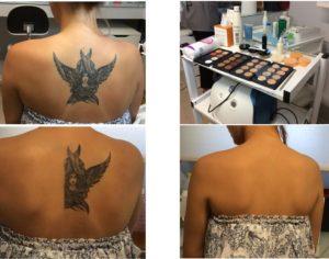 Camouflage tatoo spalle